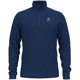 Odlo Le Tour Midlayer 1/2 Zip Herren estate blue